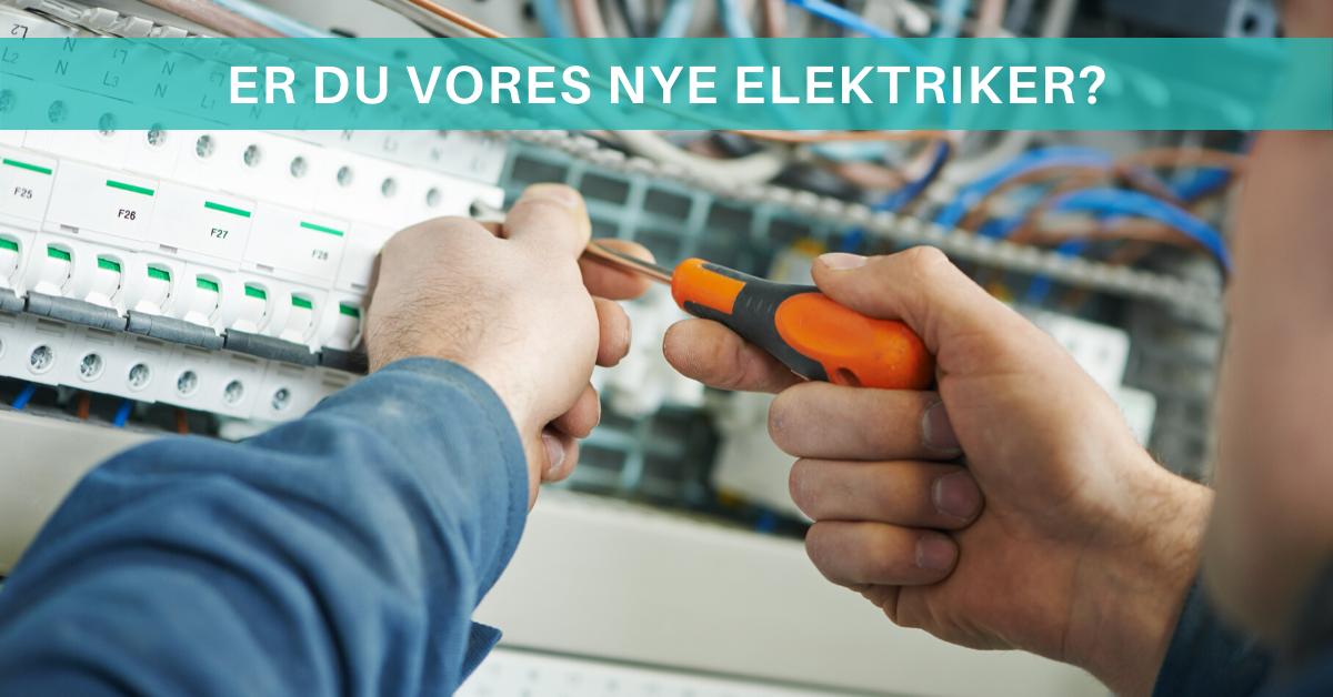 Er du vores nye elektriker i Albertslund? Så læs mere her.