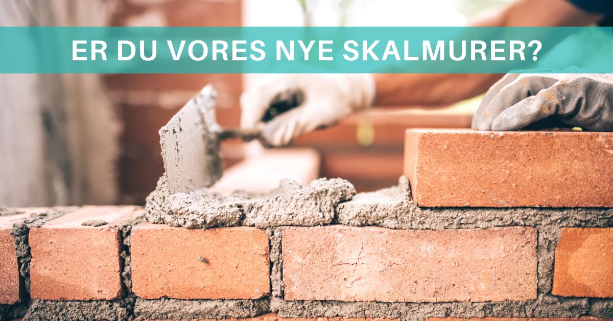 Er du vores nye murer-arbejdsmand i Rødovre? Læs med her.