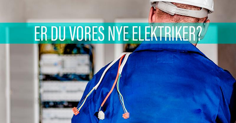 Er du vores nye elektriker i Give? Så læs mere her!