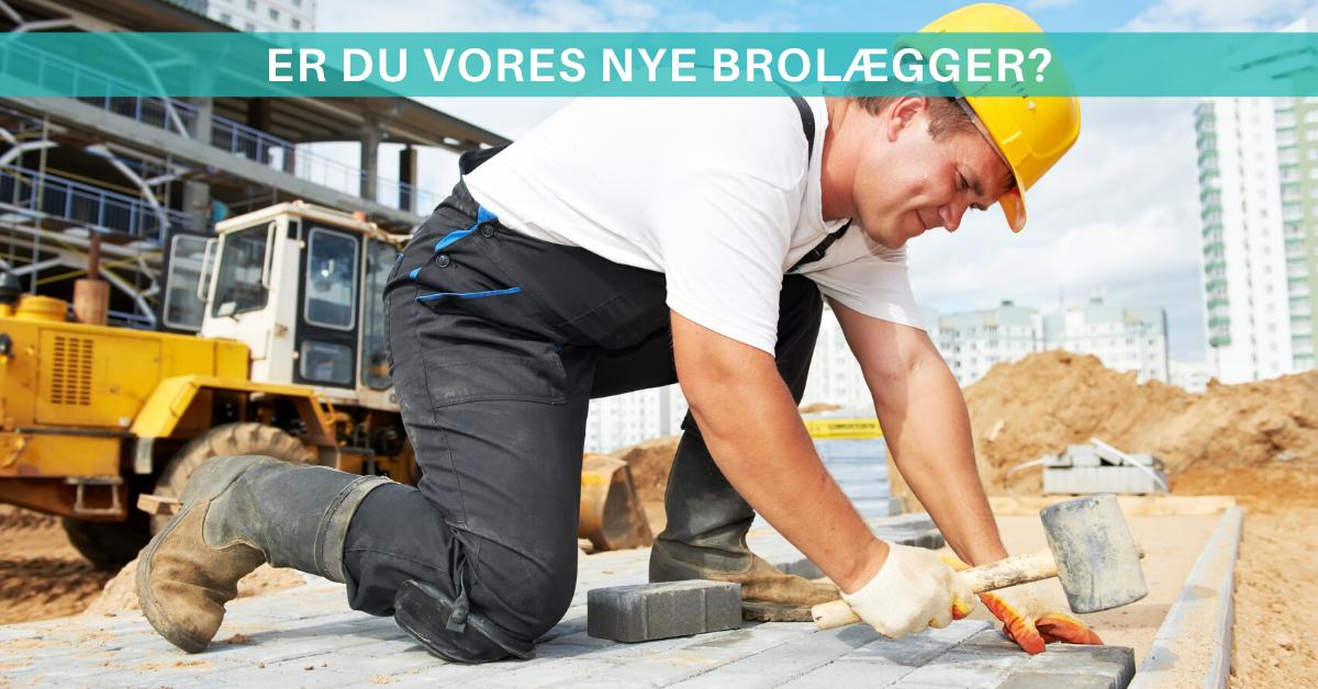 Er du en af vores nye brolæggere i Vejle? Så læs mere her!