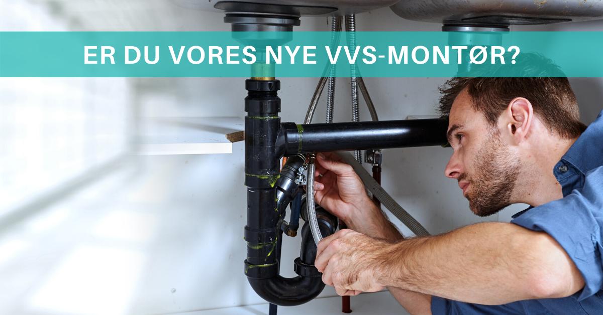 Er du vores nye VVS-montør i København? Så læs mere her 🔧