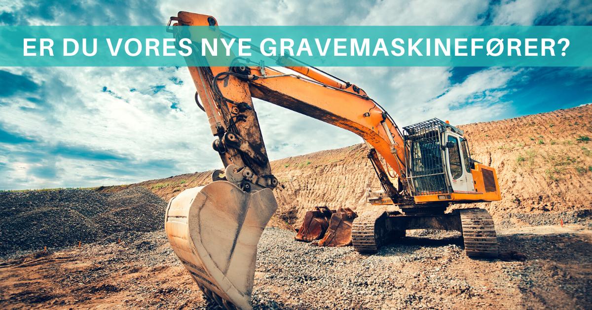 Er du vores nye gravmaskinefører i Fredericia? Så læs mere her!