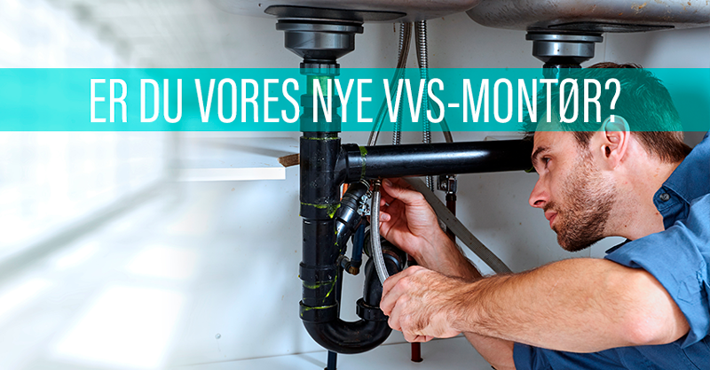 Er du vores nye VVS-montør i Odder? Så læs mere her!